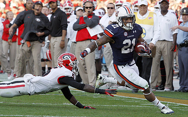Georgia DC Todd Grantham likes the way Tre Mason runs hard and competes. (USATSI)
