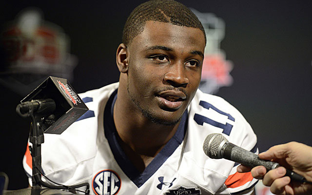 Auburn's Chris Davis has been BMOC since his winning TD return against Alabama. (USATSI)