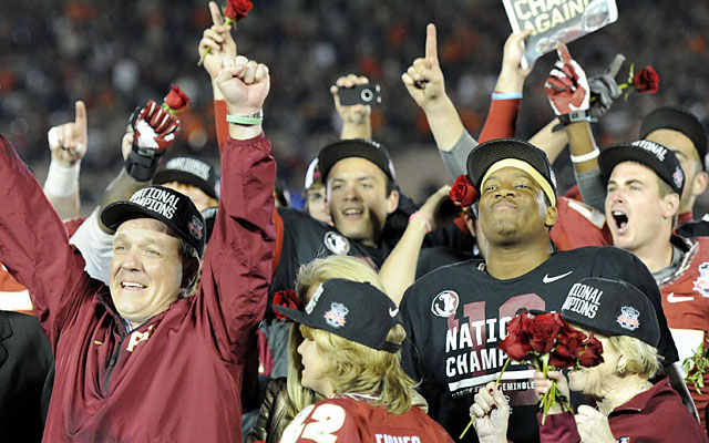 In the end, it's no shock to see the No. 1 team and the Heisman winner hoisting the crystal football. (USATSI)
