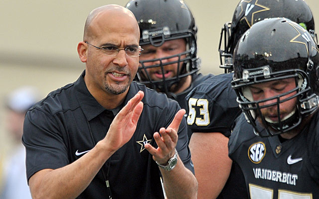 James Franklin won 18 games the past two seasons at Vanderbilt. (USATSI)