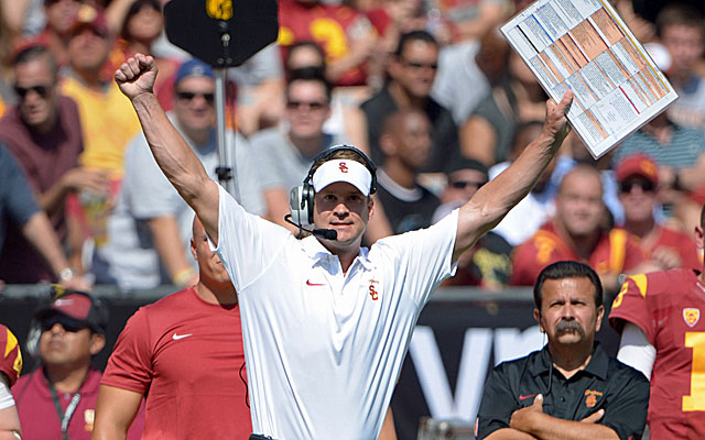 Lane Kiffin lands on his feet, taking the job as offensive coordinator at Alabama. (USATSI)