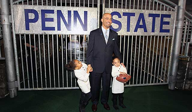 With James Franklin at Penn State, should players he recruited at Vandy be allowed to follow? (Getty Images)