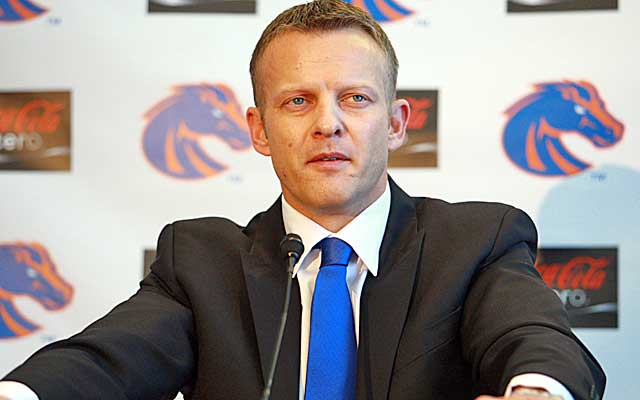 Bryan Harsin's homecoming looks like a perfect fit at Boise State.   (USATSI)