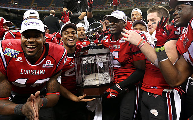 Louisiana-Lafayette and the Sun Belt had success on and off the field in 2013. (USATSI)