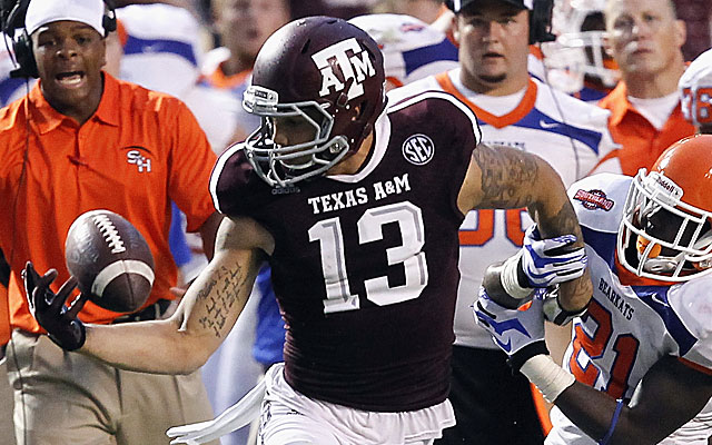 Mike Evans of Texas A&M might be the top receiver in the draft. (USATSI)