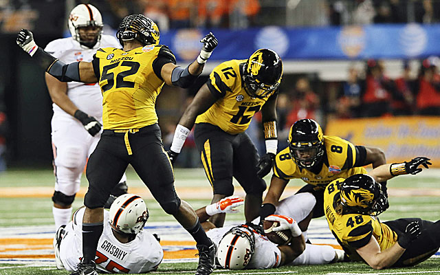 Mizzou players and coaches supported Michael Sam. and he led the Tigers to a huge season. (USATSI)