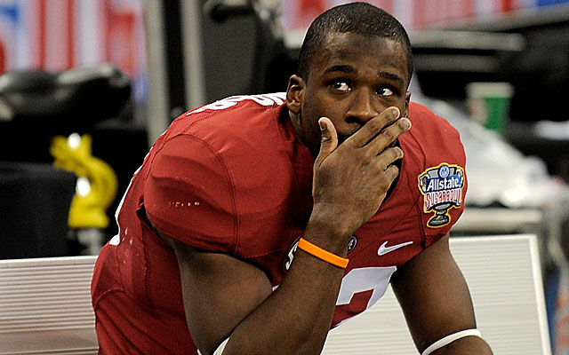 Kevin Norwood echoed AJ McCarron's remarks about 'entitlement' ruining Alabama's season. (Getty)