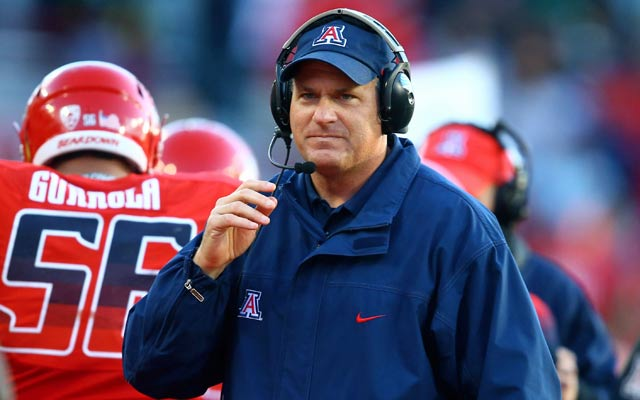 Arizona coach Rich Rodriguez has been very vocal in his opposition to the proposed rule. (USATSI)