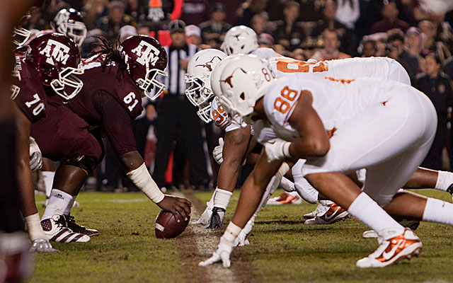 Could the Aggies and Longhorns meet on neutral turf like Dallas or Houston? (Getty)