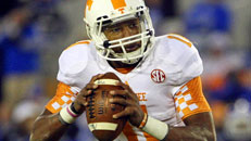 Vols QB shines on, off field