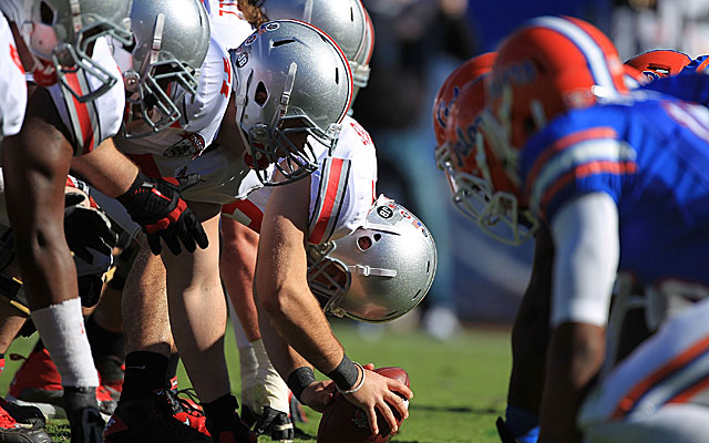 The IRS audited the 2012 Gator Bowl, where Ohio State played Florida. (Getty)