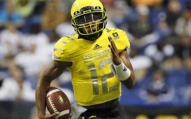 Heard says the West Coast spread that he will run at Texas is similar to his high-school offense.(USATSI)