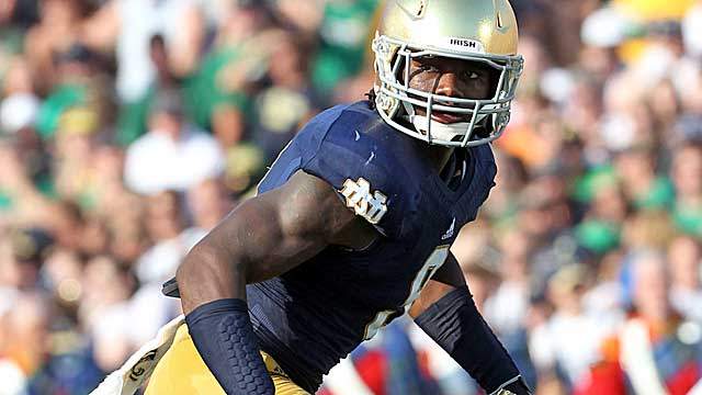 Notre Dame's Jaylon Smith.   (USATSI)