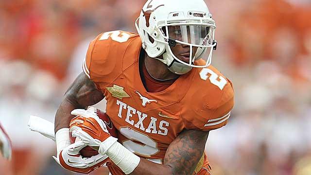 Texas WR Kendall Sanders.  (USATSI)