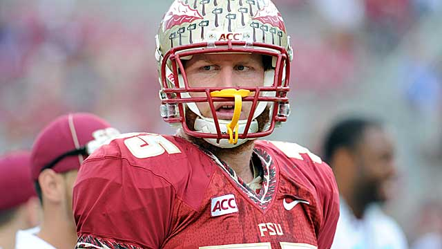 Florida State tight end Nick O'Leary.   (USATSI)