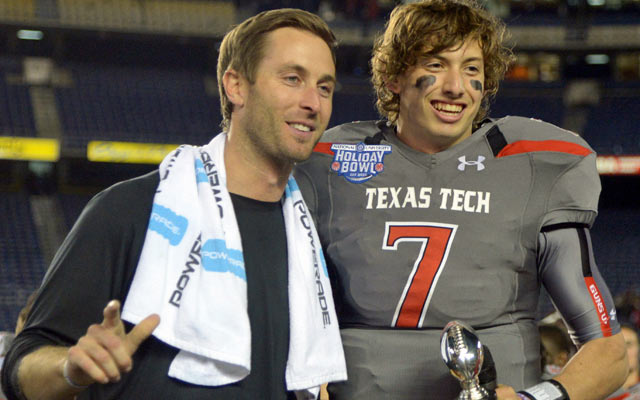 Kliff Kingsbury and the Red Raiders are coming off a resounding win in last year's Holiday Bowl. (USATSI)