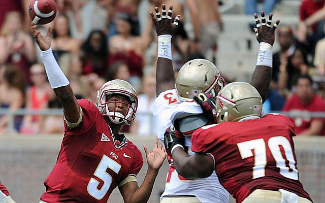 Jameis Winston hopes to be a two-sport star in the pros like Bo Jackson and Deion Sanders. (USATSI)