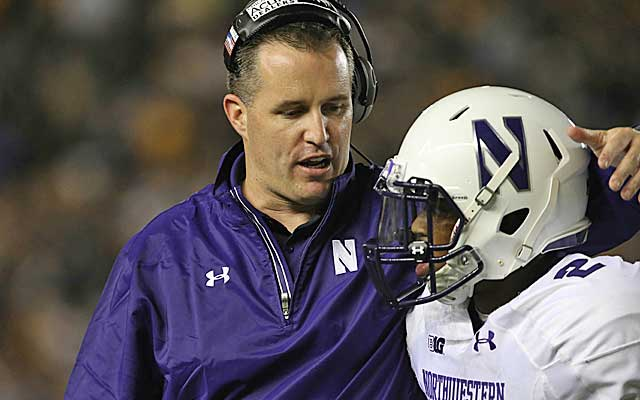 Pat Fitzgerald says his Northwestern team is united in its goals on the field.   (USATSI)