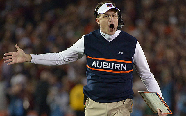 Gus Malzahn led the Tigers on an extraordinary turnaround in 2013. (USATSI)