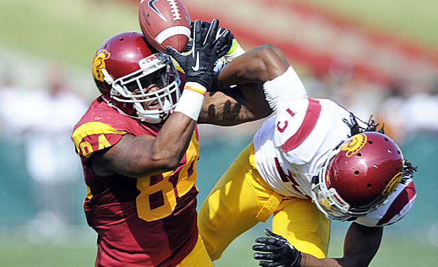 Darreus Rogers and others could make post-Marqise Lee USC even stronger at receiver.  (USATSI)