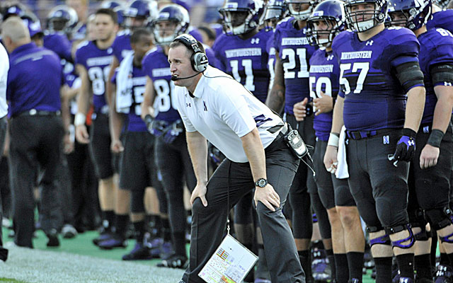 Pat Fitzgerald and Northwestern have cautioned their football players about unionization (USATSI)