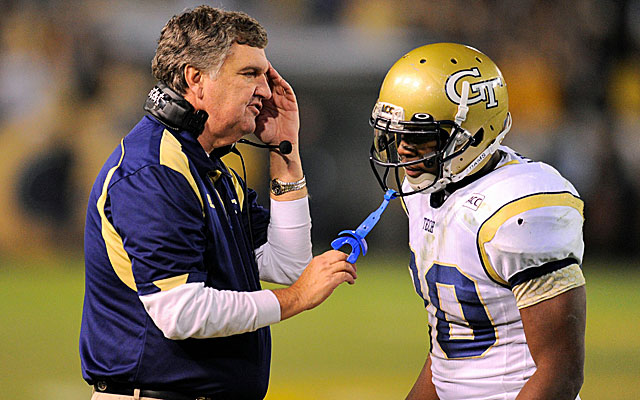 Georgia Tech coach Paul Johnson has won 14 games over the last two seasons. (USATSI)