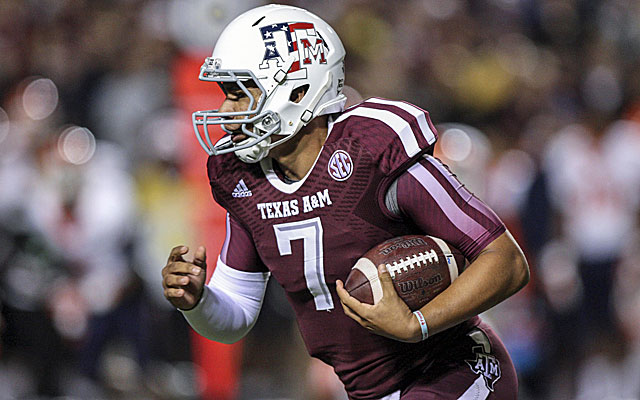 Texas A&M quarterback Kenny Hill has been reinstated for summer workouts. (USATSI)