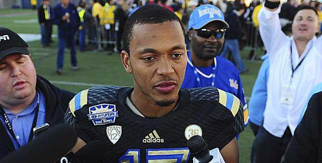 UCLA's Brett Hundley took a step back last season in this evaluation. (USATSI)