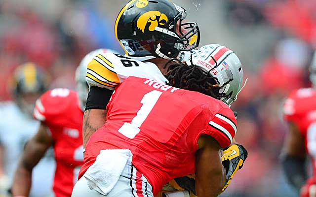 The NCAA is working on guidelines for concussion management to help improve player safety.    (USATSI)