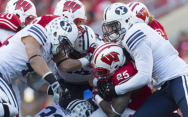 BYU can stand toe-to-toe with BCS schools, but that might not matter in the new world order. (USATSI)