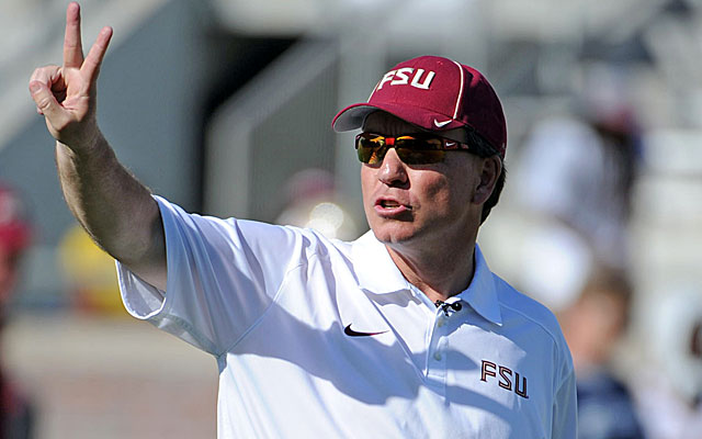 Jimbo Fisher swears by the Catapult monitoring system for his players.  (USATSI)