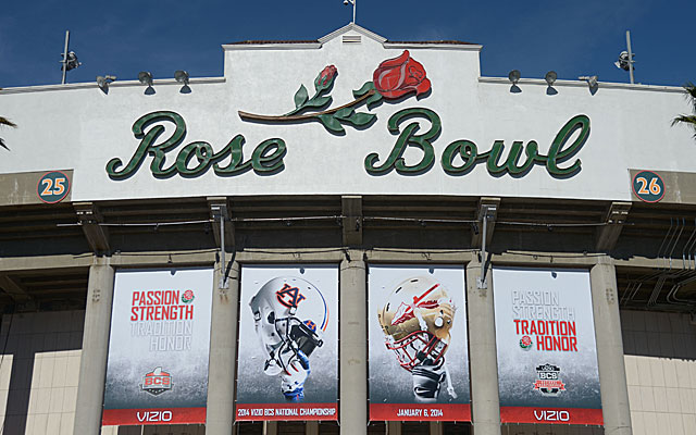 The Rose Bowl hosted last season's BCS Championship and will be a part of the new CFP.  (USATSI)