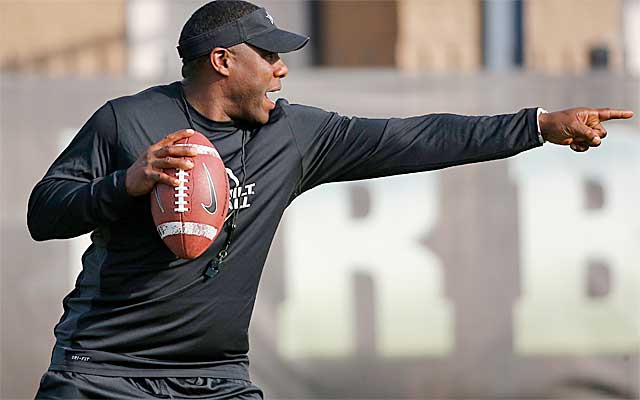 Derek Mason is putting in a plan to hopefully point Vandy in the right direction. (Provided by Vanderbilt)