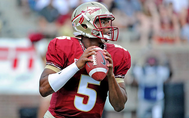 Heisman winner Jameis Winston is insured against anything that could make him fall in the draft. (USATSI)