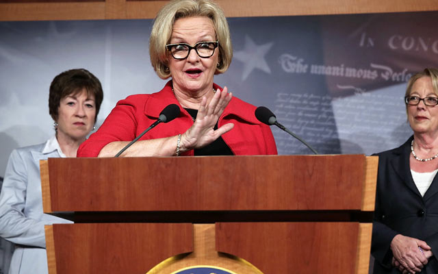 Senator Claire McCaskill had some pointed question for NCAA president Mark Emmert. (USATSI)