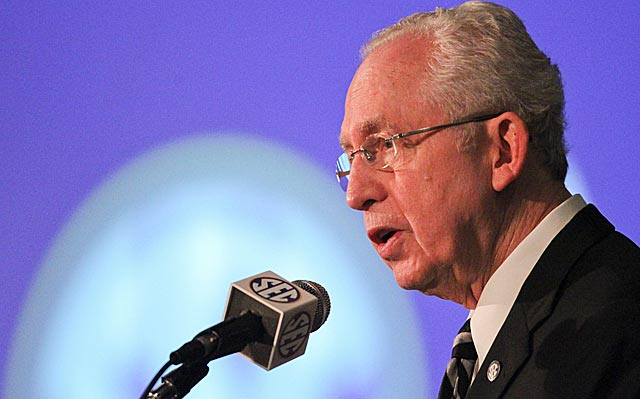Mike Slive: 'It's not about what we want, it's about what we want to give.'