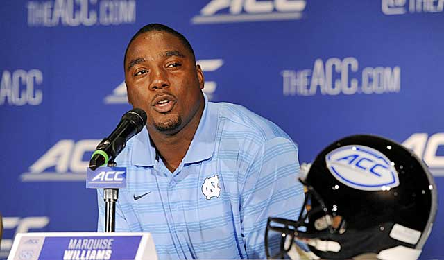 Marquise Williams wants to teach folks UNC is 'not just a basketball school.' (USATSI)