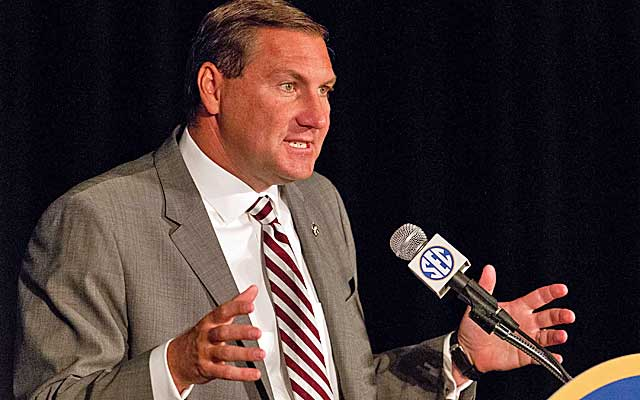 Dan Mullen says no league in the country reloads like the SEC.  (USATSI)
