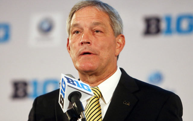 Kirk Ferentz sees a distinction between bowl eligible, not bowl worthy. (USATSI)