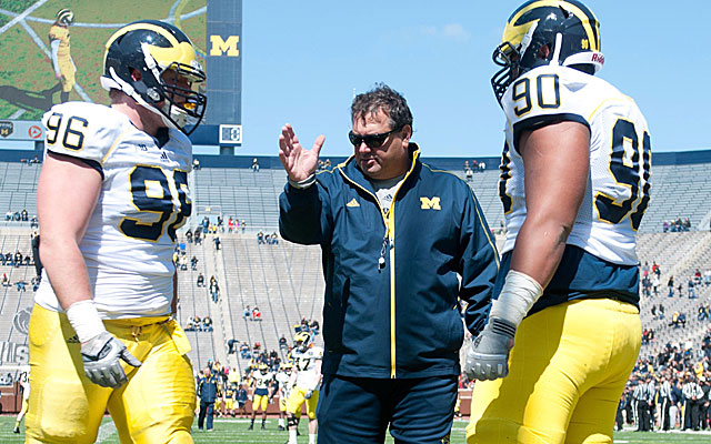 Michigan averaged top 10 in recruiting since 2000 but never made a BCS title game. Why?  (USATSI)