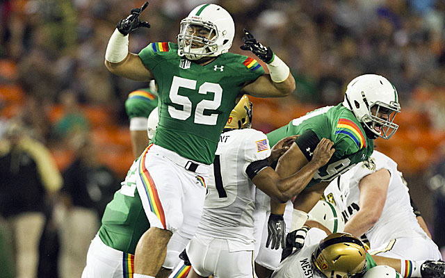 Hawaii is in danger of disbanding its football program. (USATSI)