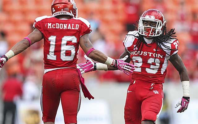 Trevon Stewart and the Houston Cougars have sights set on a New Year's Day bowl.(USATSI)