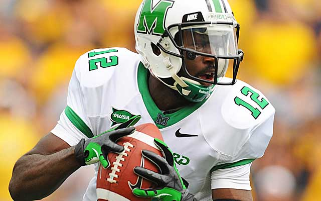 Can Rakeem Cato lead Marshall to a New Year's Day bowl?(USATSI)