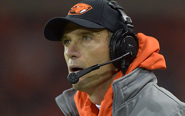 Mike Riley, entering his 12th season at Oregon State, admits 'it was crazy what we used to do.'  (USATSI)