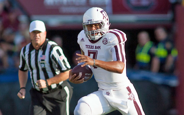 Kenny Hill breaks out in a big way for the Aggies. (USATSI)
