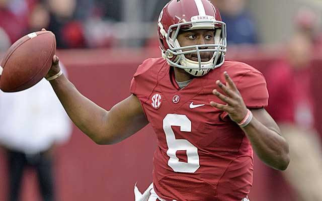 The Tide will roll with Blake Sims to start, but backup Jacob Coker should also play. (USATSI)