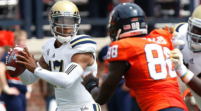 Follow LIVE: QB Hundley, No. 7 UCLA at Virginia