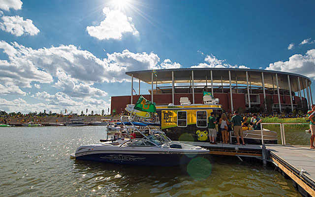 Baylor opens McLane Stadium on Sunday night. (USATSI)