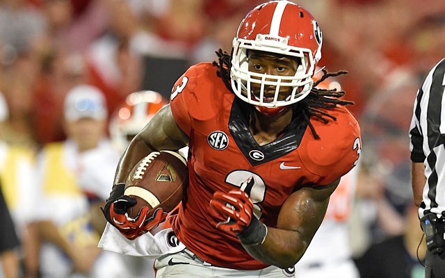 Todd Gurley vaulted into the Heisman discussion after an explosive opening game vs. Clemson. (USATSI)
