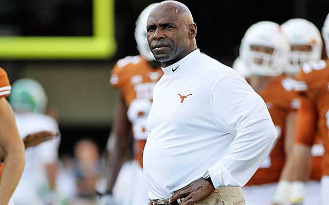 Charlie Strong isn't messing around at Texas. (USATSI)